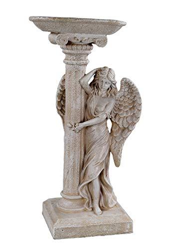 Figura de jardín de 45 cm de alto, diseño de ángel 28624 D