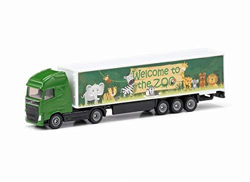 SIKU 1627, Camión articulado, Metal/Plástico, 1:87, Verde,...