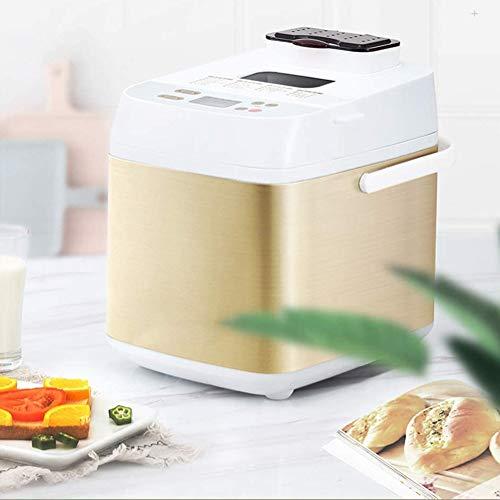 Aangepaste broodmaker 2 lbs 19 menu's glutvrij volledig tarwe roestvrij staal brood maker home bakkerij menu set 500W A 37x27x34cm (15x11x13inch)