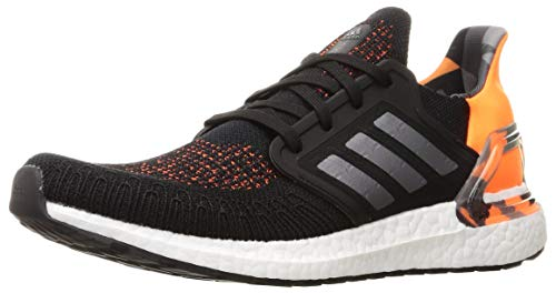 adidas Men's Ultraboost 20 Sneaker, Negbás/Gritre/Narsen, 6 UK