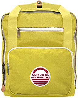 Skechers Laptop Backpack for Unisex, Yellow, 76402-68