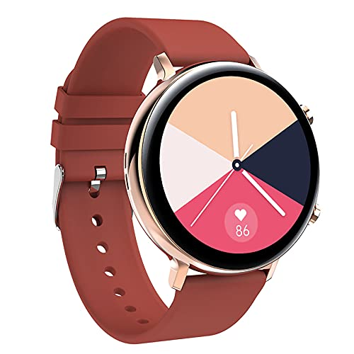 ZGZYL GW33 Bluetooth Call Smart Watch Señoras, con Presión Arterial ECG Monitoreo De Ritmo Cardíaco Smart Watch Rastreador De Fitness IP68 Reloj Deportivo Impermeable,D