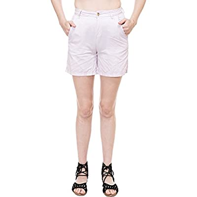 KOTTY Women's solid shorts KTTSHORTS36