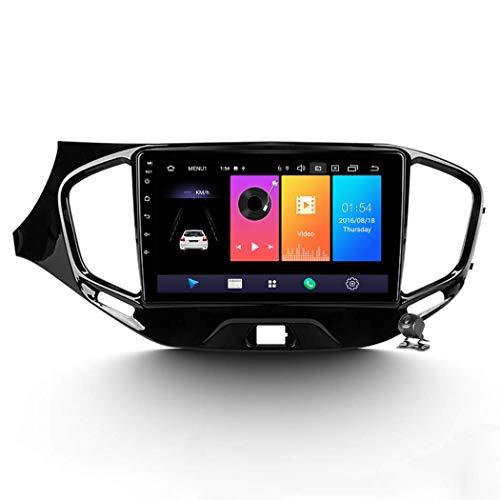 QBWZ Car Stereo Android 9.0 Radio para Lada Vesta 2015-2019 Navegación GPS Pantalla táctil de 9 Pulgadas Unidad Principal Reproductor Multimedia MP5 Video con 4G WiFi DSP Mirror Link Bluetooth