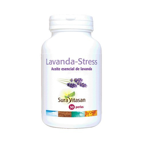 Lavanda-Stress 30 perlas de Sura Vitasan