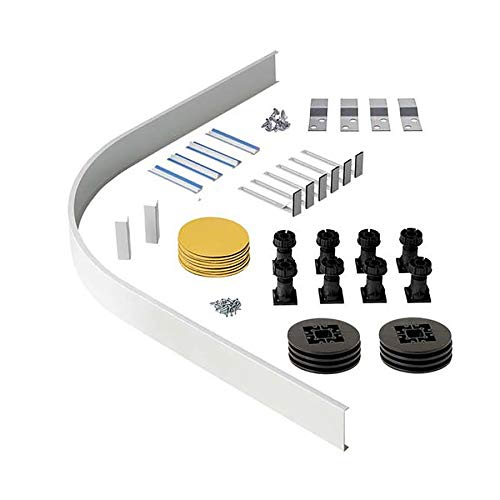 Quadrant Riser Kit Upto 1200 x 900mm for Pearlstone Shower Tray with Leg Fitting