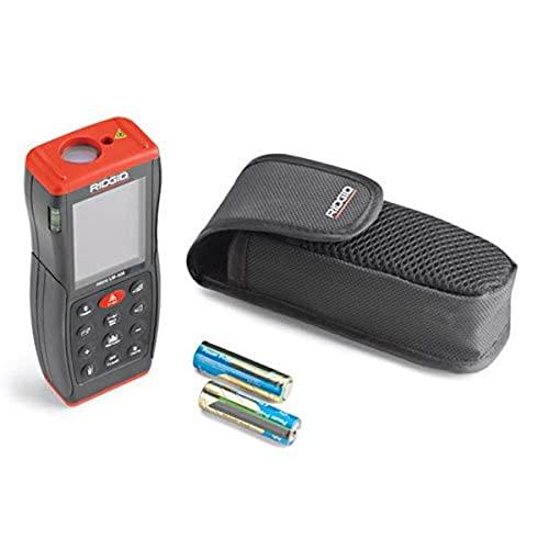 RIDGID 36813 Medidor láser de distancia avanzado Modelo Micro LM-400, Medidor láser de distancia