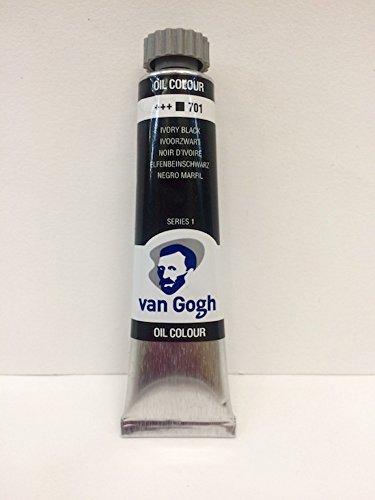 Óleo Van Gogh 20 ml Negro Marfil 701