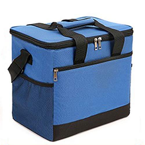GCX paquete de enfriamiento 25L coche incubadora congelador portátil acolchado al aire libre impermeable picnic refrigerado paquete de hielo impermeable