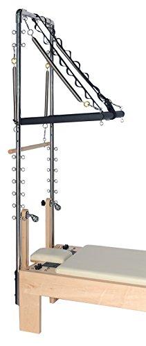 Yogistar Pilates Star Half Cadillac – Crema – Extensión para el reformador de arce corto y piernas terapéuticas