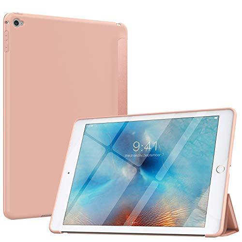 MoKo Hülle Kompatibel mit iPad Air 2, Dünn Leicht Cover mit Auto Schlaf/Wach Funktion, Schlanke Matte Rückseite Kompatibel mit iPad Air 2 9.7