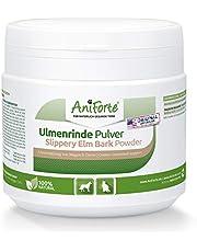 AniForte Polvo de Corteza de Olmo Rojo 100g. Producto Natural para Perros y Gatos. Ayuda al Equilibrio de la Flora Intestinal. Bienestar para el Sistema Gastrointestinal con Gran Aporte de Vitaminas