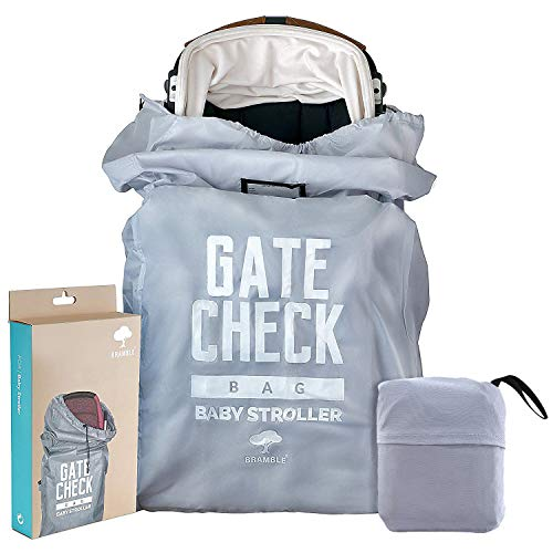 Baby Buggy Travel Bag for Airplane Gate Check in – Easy to Carry & Identify at Airport Baggage Carousel - 100% Protection & Waterproof - Great Storage Solution for Baby Strollers & Pushchairs.