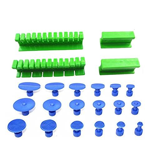 Car suction cup puller Juego de herramientas manuales Kit de reparación de eliminación de abatimiento sin recubrimiento para dent, granizo, kit de herramientas de reparación dental, herramienta de rep