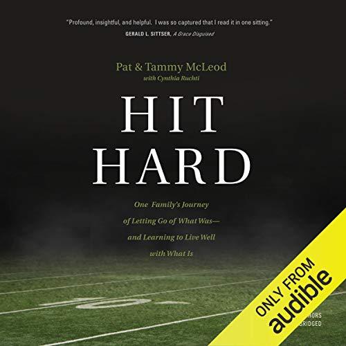 Hit Hard audiobook cover art