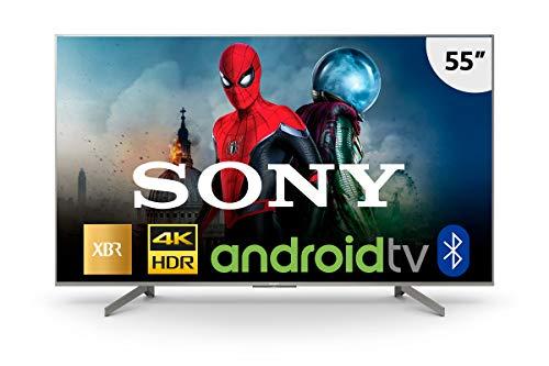 Smart TV LED, Média, Sony, XBR-55X855G, 55, Prata, Compatível com Alexa