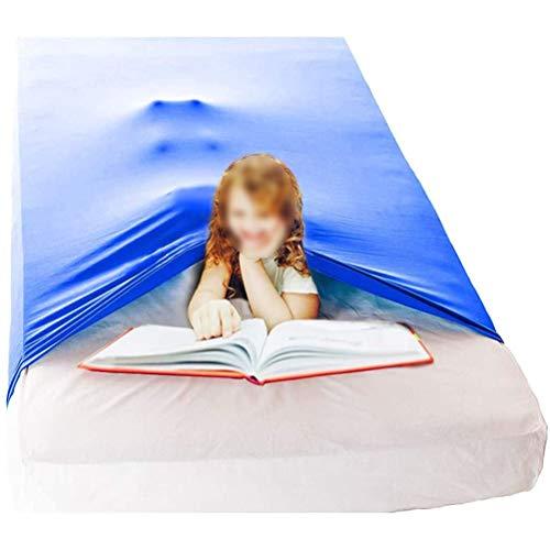 CHICTI Sensorischen Bettlaken Für Kinder Gewichtsdecke Alternativ Bequem, Dehnbar Kühl Und Atmungsaktiv Tiefer Druck Zum Entspannen Und Bequemen Schlafen (Size : 69x132cm/27x52in)