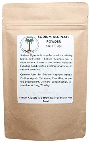 Sodium Alginate - Food Grade - 4 Ounces