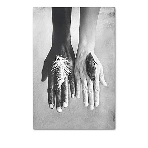 LiMengQi2 Poster e Stampe di Balletti scandinavi Decorano L'Immagine su Tela per la Decorazione Domestica della Parete del Soggiorno (Senza Cornice)