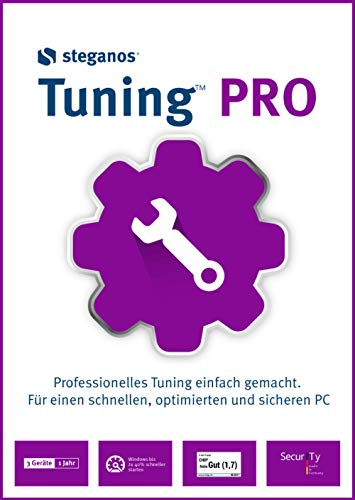 Steganos Tuning PRO - Professional tuning made easy! Windows 10|8|7 [Téléchargement]
