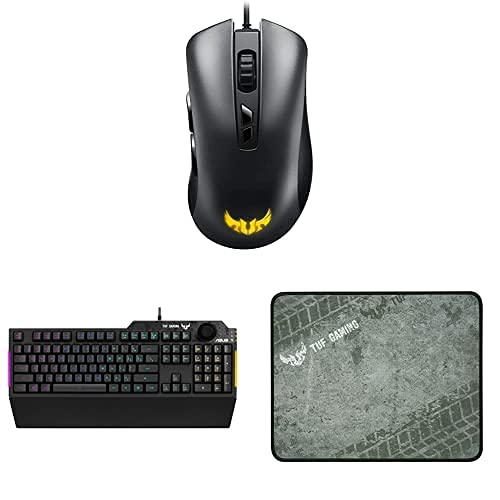 ASUS TUF Gaming Tastatur, Maus und Mauspad