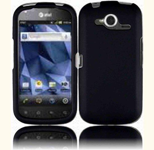 Black Hard Case Cover for Pantech Burst P9070 9070