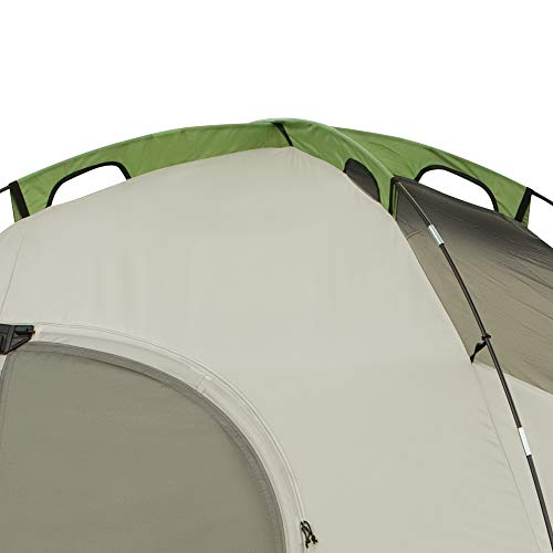 41muY 6ZxWL - Coleman 8-Person Tent for Camping | Montana Tent with Easy Setup