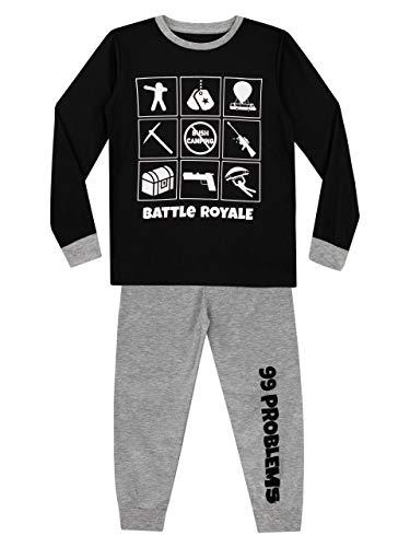 Character UK Pijama para Niños Battle Royale Multicolor 13-14 Años