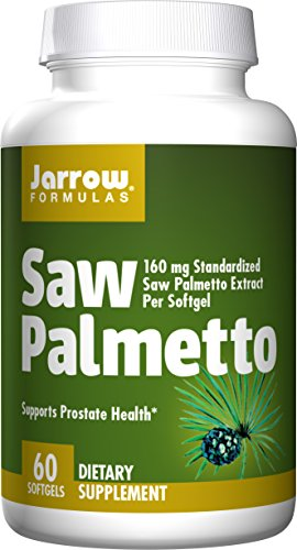 Jarrow Formulas Saw Palmetto, 60 Softgel, 160mg, 1 Units
