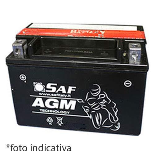 Generico RVS Batteria Moto e Scooter 12 Volt 10 Ah YTX12-BS per Kawasaki ER-6n CC 650 12