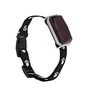 Dog Collar Pet Tracking Collar Cat's Smart Tracking Collar Real-time Activity Monitor Pets Dog 5.3×2.7×2.2cm