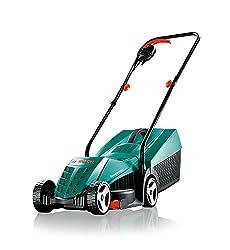 Bosch Lawnmower ARM 32, 31 l grass catcher, carton (1200 Watt, 32 cm cutting width, 20-60 mm cutting height)