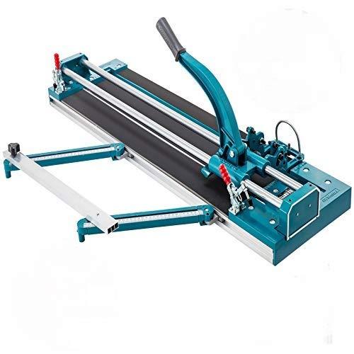 VEVOR Cortadora de Azulejos 35 mm Cortador de Azulejos Manual Máquina para Cortar Azulejos Cortadora de Cerámica con Láser (1200mm)