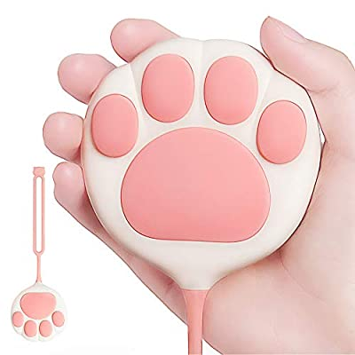 OKOVO Cat Paw Rechargeable Hand Warmers, 3000 mAh USB Electric Hand Warmer, Rechargeable Power Bank, Reusable Portable Hot Pocket Warmer, Best Gifts for Men and Women in Cold Winter