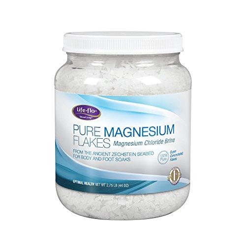 LIFE-FLO - Pure Magnesium Flakes - 2.75 Lbs. (44 oz.)