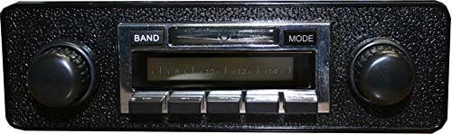 Custom Autosound Stereo + BLUKIT Compatible with 1971-1979 Volkswagen Super Beetle Bug, USA-630 II Bluetooth Enabled High Power 300 watt AM FM Car Stereo/Radio