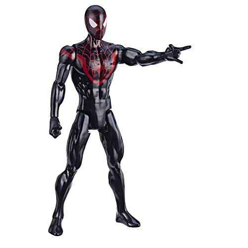 Marvel Spider-Man: Titan Hero Serie Miles Morales, 30 cm große Superhelden Action-Figur