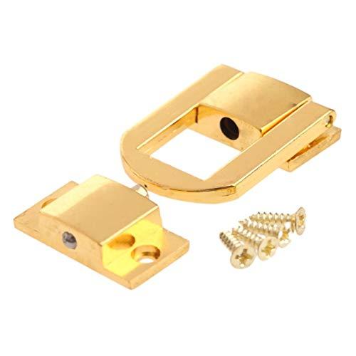 JIAHUI 1 caja de regalo de bronce antiguo y dorado vintage, cierre de bronce antiguo, caja de regalo, hebillas, cierre de 30 x 24 mm (color: B)