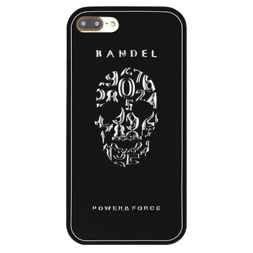 矛盾委任する入浴バンデル(BANDEL)iPhone7 ケース スカル[ブラック×シルバー]/スマホケース iPhoneケース iPhone用
