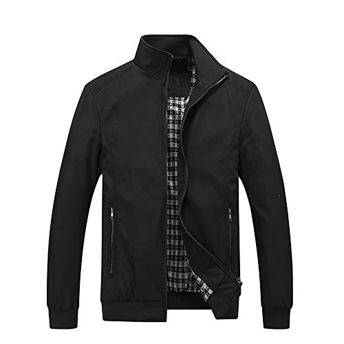 Ulooker Men's Casual Jacket Slim Fit Outdoor Lightweight Fashion Jackets Zipper Outwear
