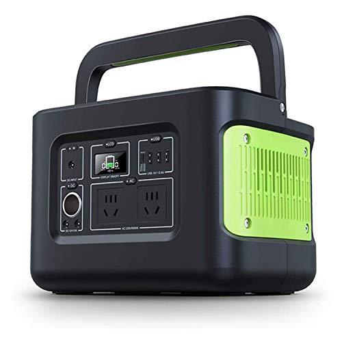 LIUDOU Tragbare Power Bank 622Wh 172800Mah, Leistungsstarkes Tragbares Batterieladegerät, Mit DC/AC-Wechselrichtern Für Camping Im Freien Camping Electric Not-Backup