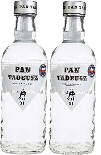 2 Flaschen Wyborowa Pan Tadeusz Polnischer Exclusiv Wodka (1 x 0.5 l) 40% vol.