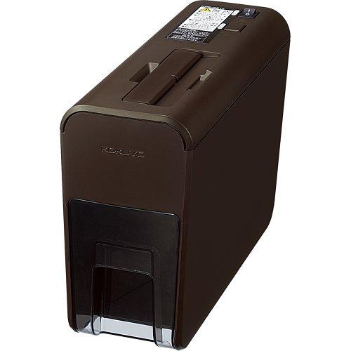 コクヨ シュレッダー デスクトップ RELISH pix ブラウン KPS-X21S
