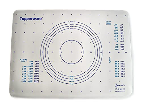 TUPPERWARE Backen Teigunterlage blau auch für Knete Fix&Fertig Backunterlage 7421