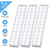 3-Pack CSHID-US 24-LED New Motion LED Closet Light
