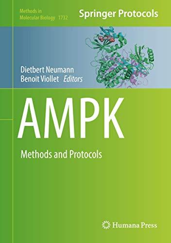 AMPK: Methods and Protocols (Methods in Molecular Biology)