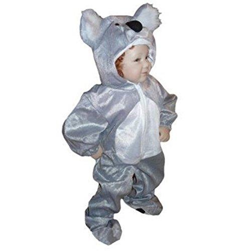 J42 Tamaño 2-3A (92-98cm) traje de koala para los bebés y los ...