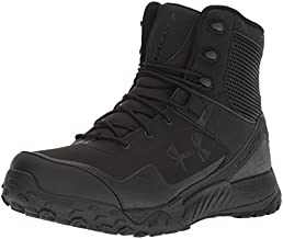 Under Armour Men's Valsetz RTS 1.5 Military and Tactical Boot, Black (001)/Black, 11