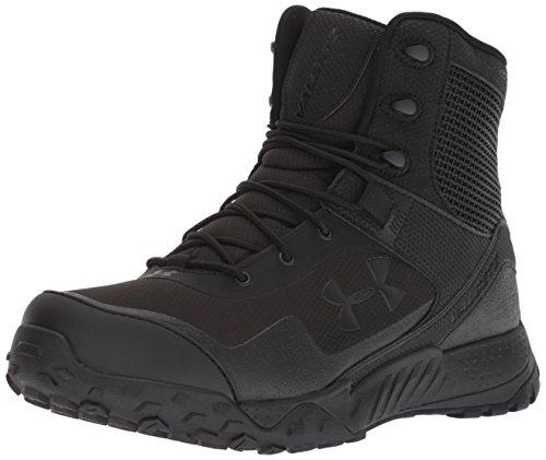 Under Armour UA Valsetz RTS 1.5 4E, Chaussures de Randonnée Basses Homme, Noir (Black/Black/Black (001) 001), 42 EU