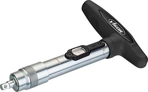 Vigor T-Griff Drehmoment-Schraubendreher V4431-1 ∙ Vierkant 6,3 mm (1/4 Zoll) ∙ Gesamtlänge: 190 mm ∙ Nm min-max: 2 – 10